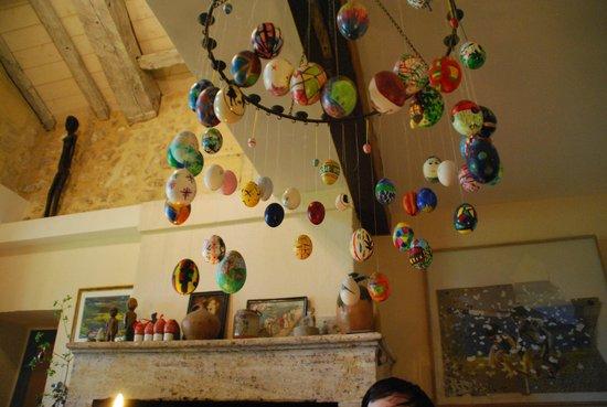 Domaine Mongiron: Easter eggs