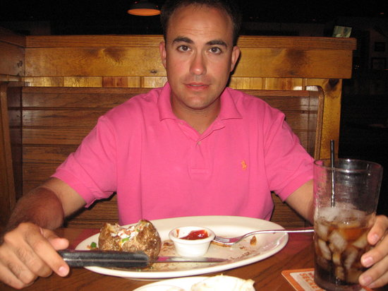 Outback Steakhouse: platos enormes!