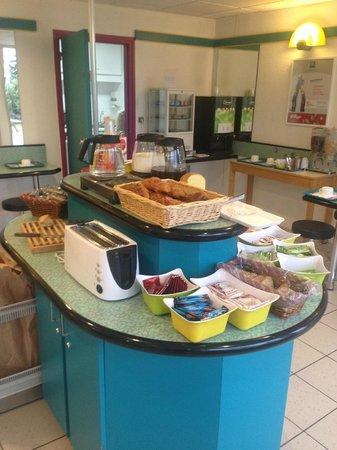 Ibis Budget Caen Mondeville: petit déjeuner