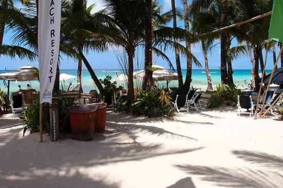 The Boracay Beach Resort front beach