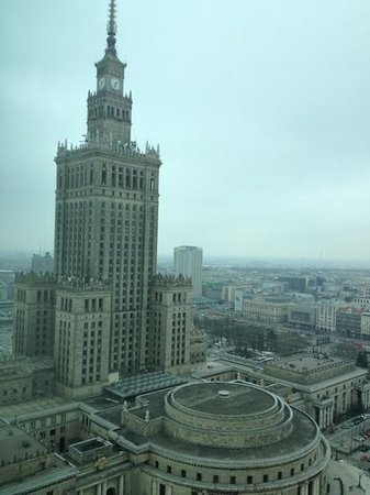 View of Soviet-era Palace from Room 2415