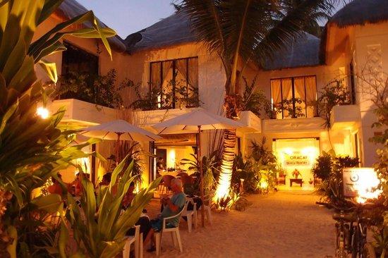 The Boracay Beach Resort night scene
