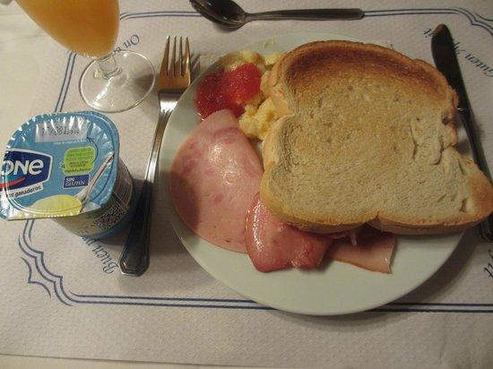 Hotel Murillo: 朝食