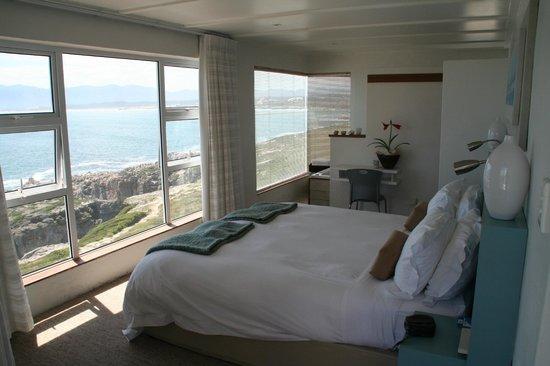 Whalesong Lodge: suite met uitzicht op de walvissen
