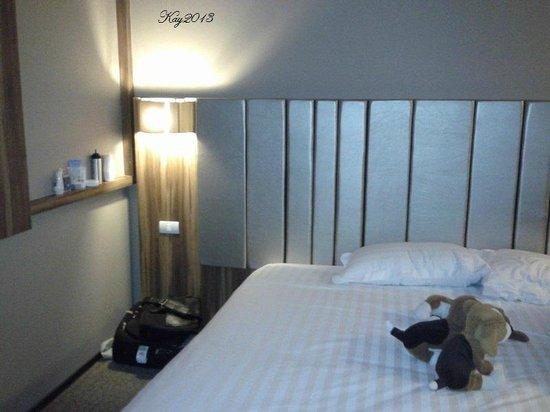 Grand Howard Hotel : comfy bed