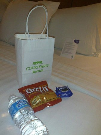 Courtyard Knoxville Airport Alcoa: Nice Welcome Bag!