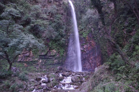 Waterfall at Tirthan Valley