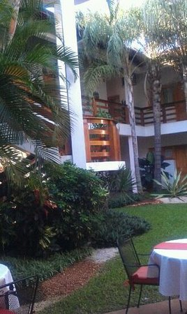 Hotel Westfalenhaus: Vista desde el restaurante