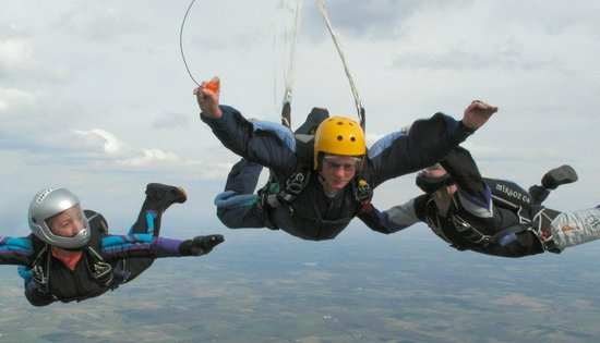 Accelerated Freefall at Skydive Twin Cities