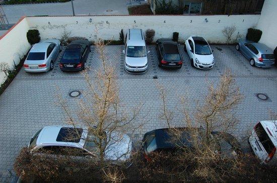 Altstadthotel: Geschützter Parkplatz