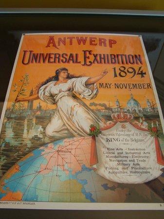 BELvue Museum: Expo universelle d'Anvers de 1894