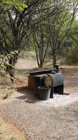 Mosetlha Bush Camp & Eco Lodge: Reliable Eco Boiler