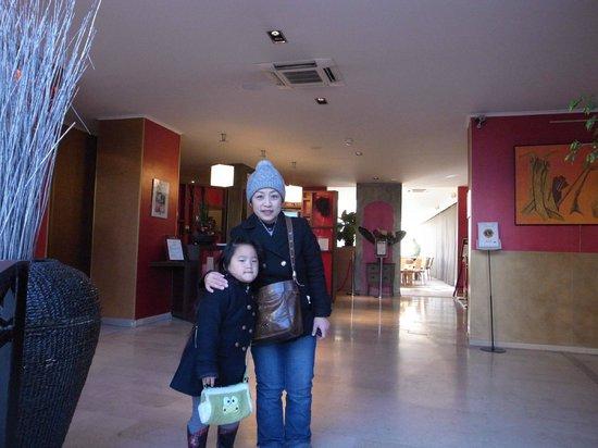 BEST WESTERN Atrium Arles : 大廳還挺新的,不過客房區就有一點舊