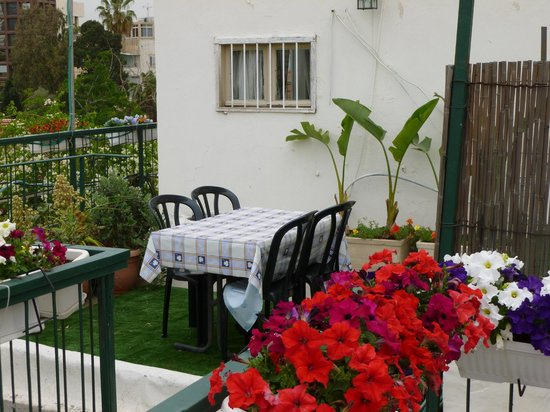 Villa Vilina Oasis in Neve Tzedek: Littel corner at the rooftop