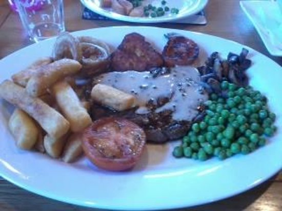 The Kingarth Hotel: Perfect steak, perfect meal.