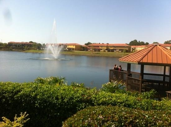 Encantada -The Official CLC World Resort: Clubhouse lake