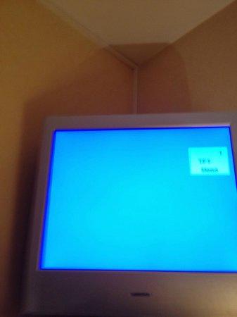 Mercure Rennes Place de Bretagne : La télé, c'est le Grand Bleu...