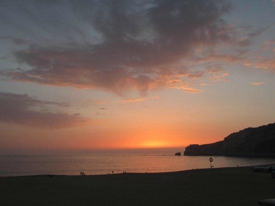 Adega Oceano: ホテルからの眺め(オーシャンビュー)sun set