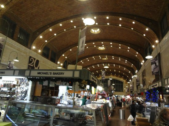 The Cleveland Hostel: Inside the West Side Market