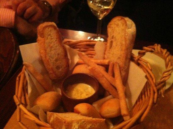 Bella Italia: Heerlijke broodjes met dip als voorgerecht
