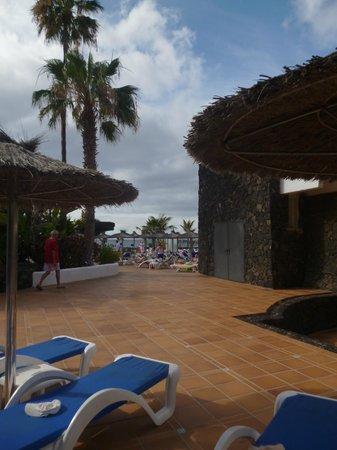 VIK Hotel San Antonio: View from sundeck by restaurant