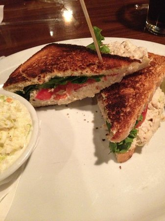 The Rookery: Chicken Salad Sandwich