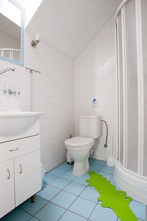 Pension Rosa: Suite - bathroom