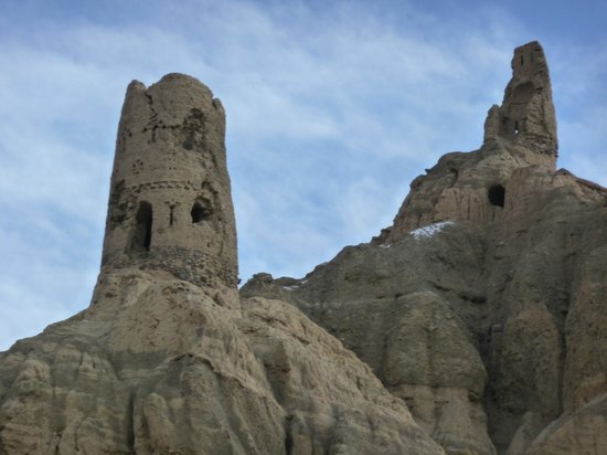 Cultural Landscape and Archaeological Remains of the Bamiyan Valley : Fortress ruins, Bamiyan