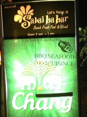 Sabai Ba Bar: Eingangsbereich