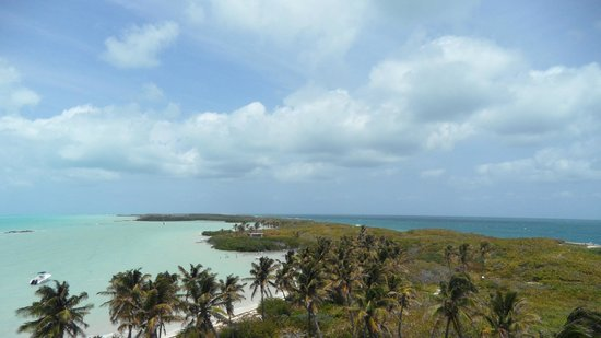 Isla Contoy: view from the tower
