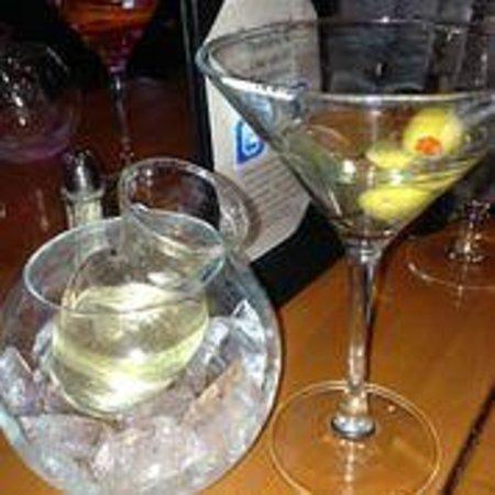 Tavolino: Delicious dirty Martini