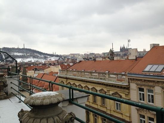 Residence Bologna: visuale dal balcone