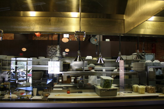 Little Hawaiian Seafood Grill & TIKI Lounge: Display Kitchen