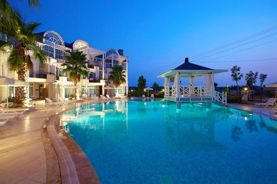 Seahorse Deluxe Hotel: POOL VIEW