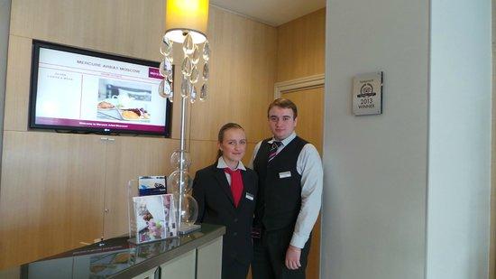 Mercure Arbat Moscow : Friendly staff Ekaterina and Yakov