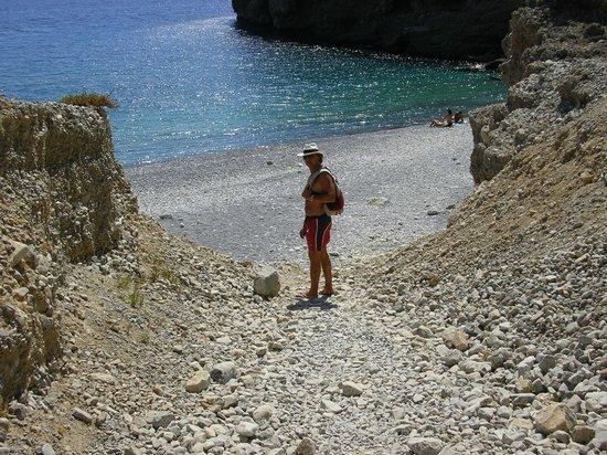 Hotel Stavris: spiaggia