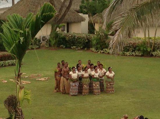 Tradtional Dance the 'Meke' - Picture of Sofitel Fiji Resort & Spa