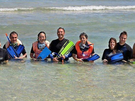 Blue Reef Red Sea Resort : Con Federico del Diva Sub dopo lo Snorkeling