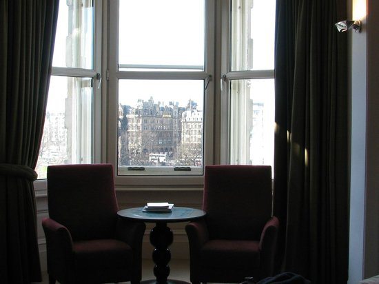 The Scotsman Hotel: With a view