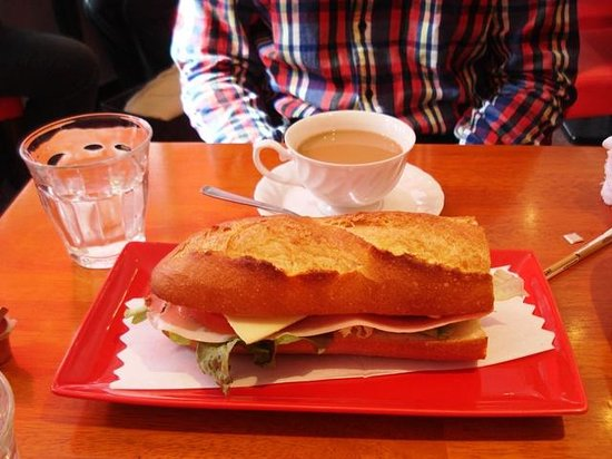 Residential Hotel B: CONTE Asakusa: Our Breakfast A