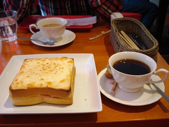 Residential Hotel B: CONTE Asakusa: Our Breakfast B