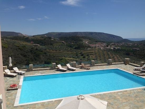 Hotel Perivoli: the pool
