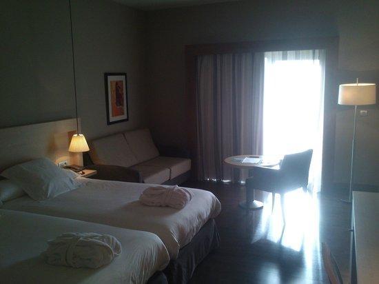 Hotel Spa Attica 21 Villalba: Habitación