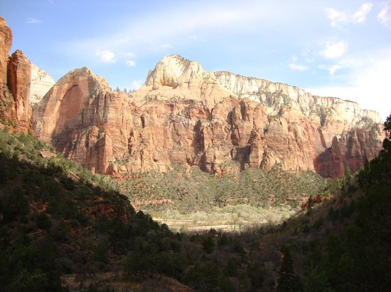 Zion Lodge: View from the room