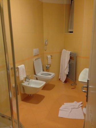 Gugliel Motel : bagno grande e pulito