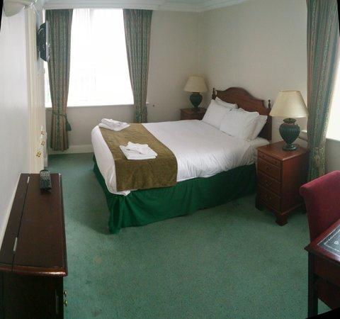 Travelodge Dublin City Centre, Stephens Green Hotel: Zimmerpanorama