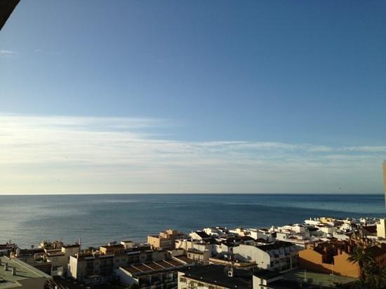 Apartamentos Nucleo Cristal: view from the balcony