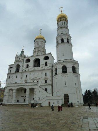 Ivan the Great's Bell Tower (Ivan Veliky): Le Clocher de la Tour d' Ivan le Grand