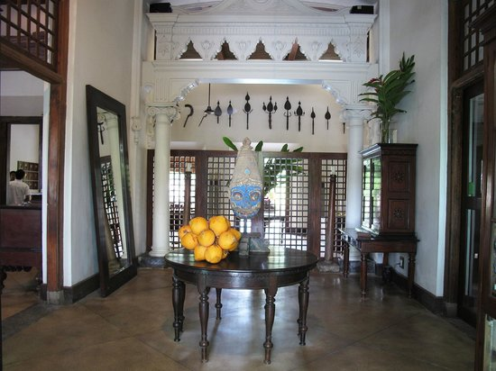 Galle Fort Hotel: The entrance hall