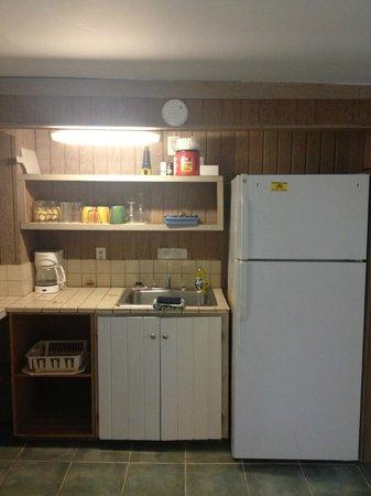Papa's Hideaway: Kitchen area